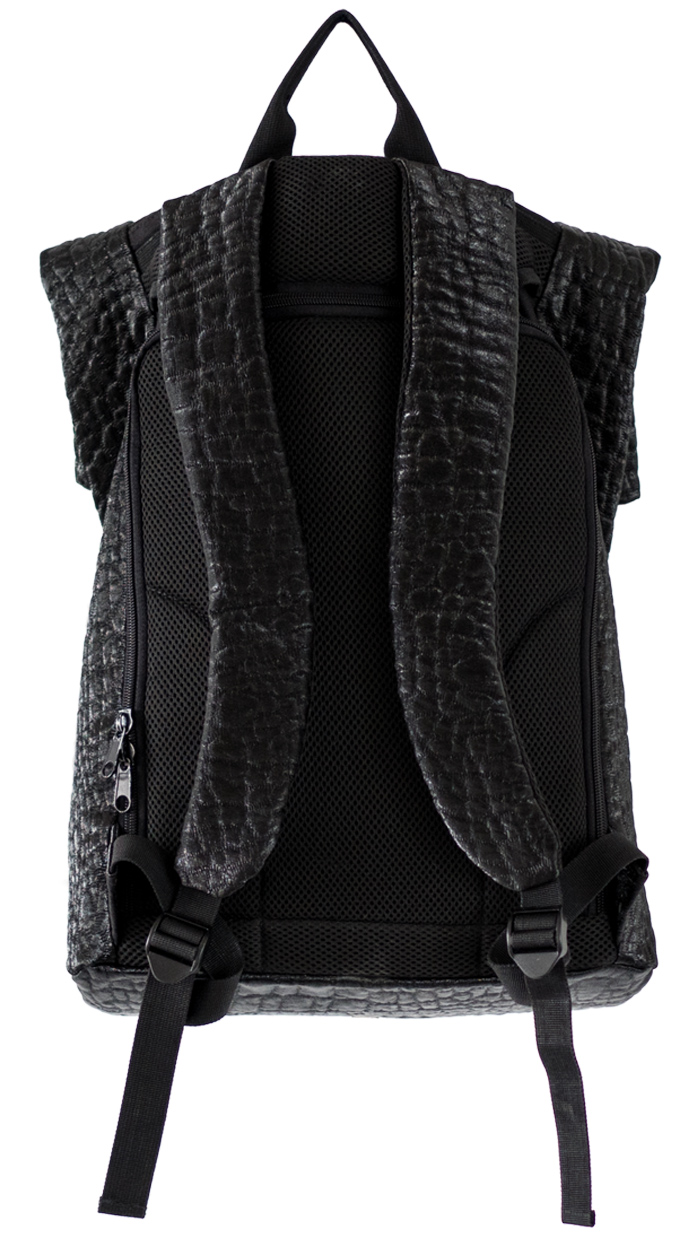 croc look backpack