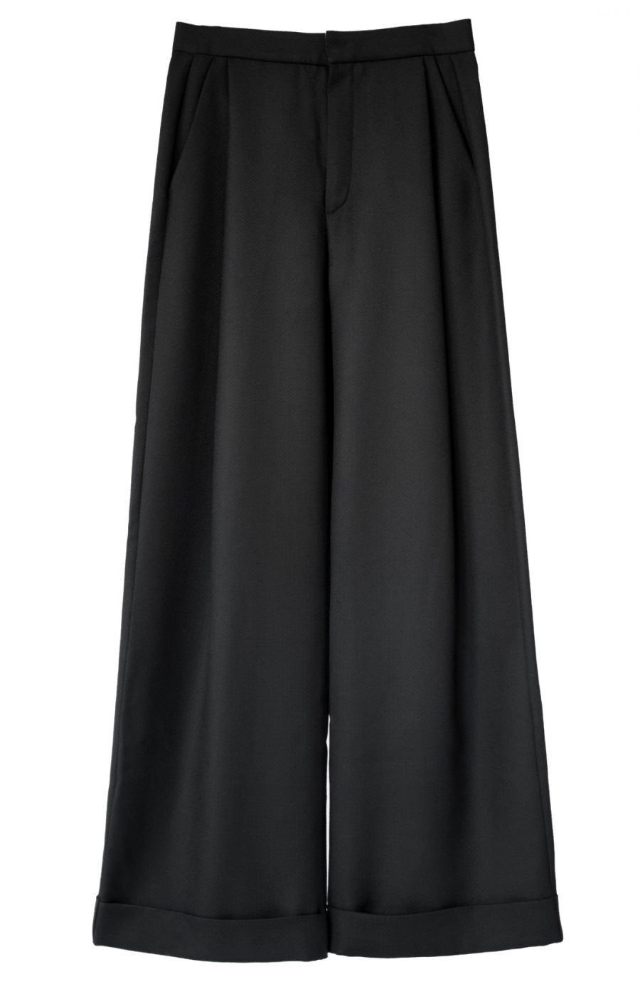 cropped Marlene wide pants