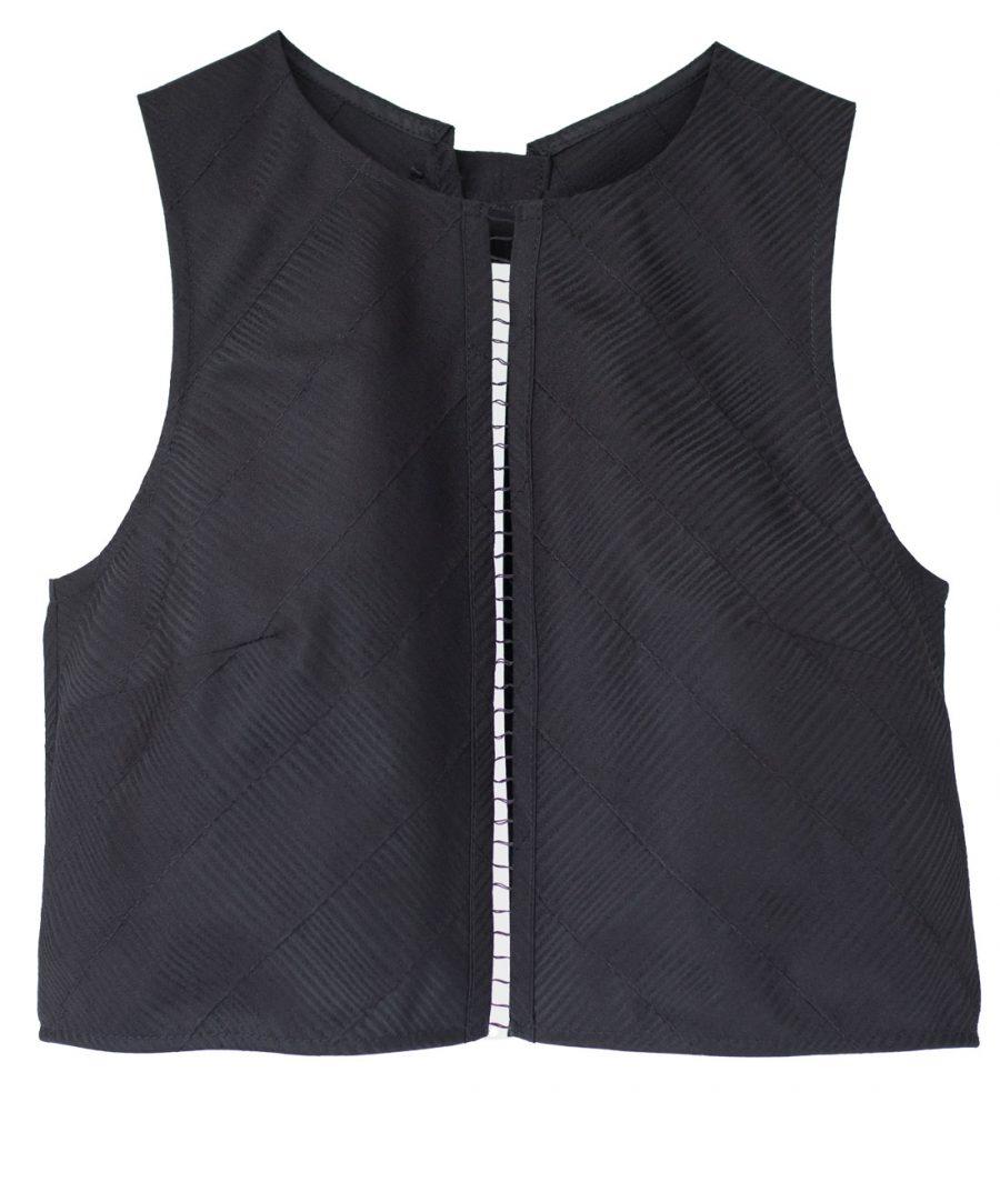 crop top vest